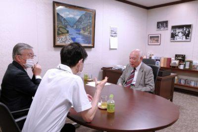 インディアナ大学日本同窓会 堤剛 インタビュー