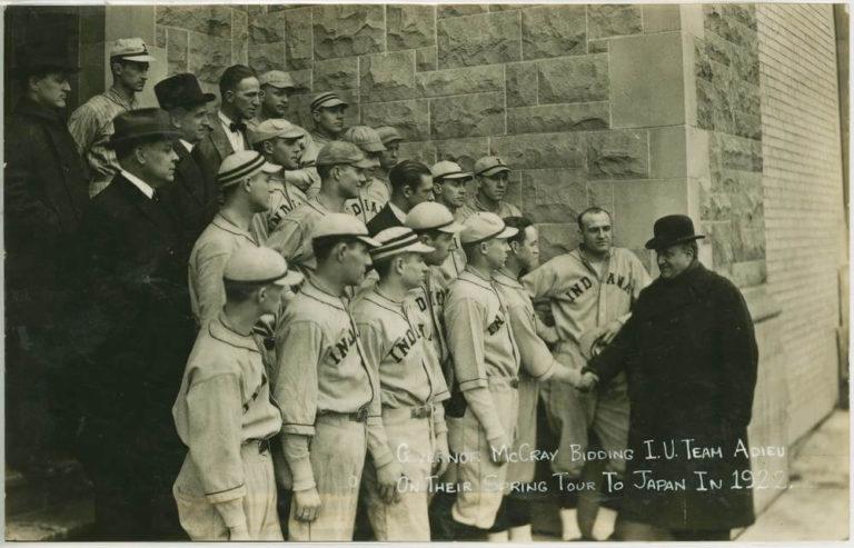 IUbaseball 1922 McCray
